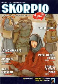 Copertina SKORPIO ANNO 39 n.34 - SKORPIO 2015             34, EDITORIALE AUREA
