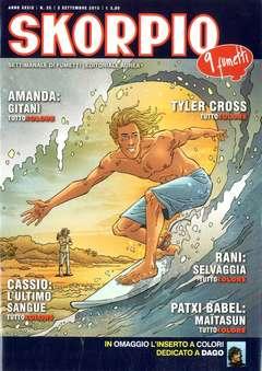 Copertina SKORPIO ANNO 39 n.35 - SKORPIO 2015             35, EDITORIALE AUREA