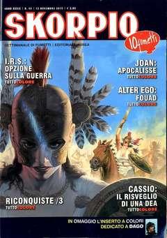 Copertina SKORPIO ANNO 39 n.45 - SKORPIO 2015             45, EDITORIALE AUREA