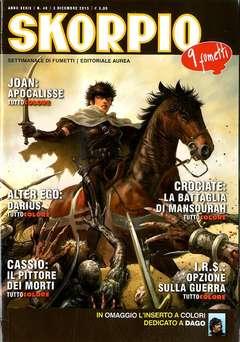 Copertina SKORPIO ANNO 39 n.48 - SKORPIO 2015             48, EDITORIALE AUREA