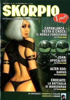 Copertina SKORPIO ANNO 39 n.51 - SKORPIO 2015             51, EDITORIALE AUREA