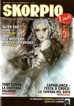 Copertina SKORPIO ANNO 39 n.52 - SKORPIO 2015             52, EDITORIALE AUREA