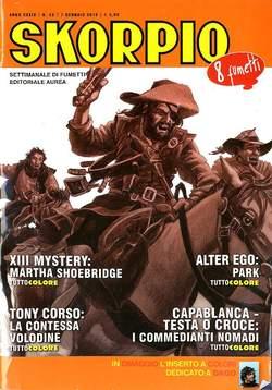 Copertina SKORPIO ANNO 39 n.53 - SKORPIO 2015             53, EDITORIALE AUREA
