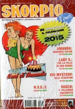Copertina SKORPIO ANNO 39 n.1 - SKORPIO 2015             1, EDITORIALE AUREA