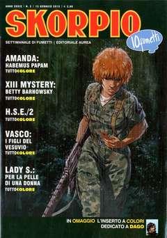 Copertina SKORPIO ANNO 39 n.2 - SKORPIO 2015             2, EDITORIALE AUREA