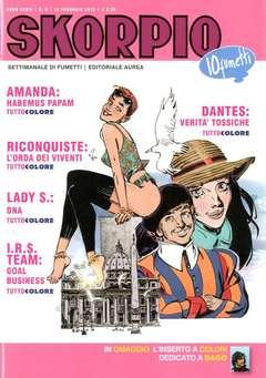 Copertina SKORPIO ANNO 39 n.6 - SKORPIO 2015             6, EDITORIALE AUREA