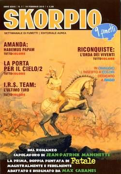 Copertina SKORPIO ANNO 39 n.7 - SKORPIO 2015             7, EDITORIALE AUREA
