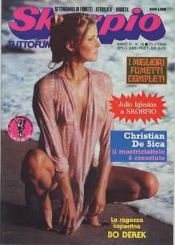 Copertina SKORPIO ANNO  4 n.10 - SKORPIO 1980            10, EDITORIALE AUREA
