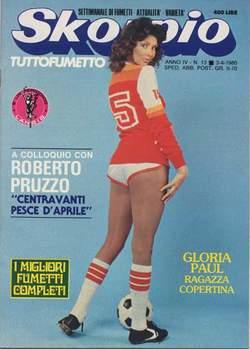Copertina SKORPIO ANNO  4 n.13 - SKORPIO 1980            13, EDITORIALE AUREA