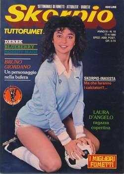 Copertina SKORPIO ANNO  4 n.15 - SKORPIO 1980            15, EDITORIALE AUREA