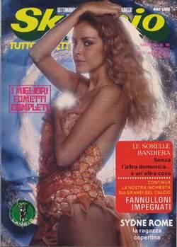 Copertina SKORPIO ANNO  4 n.16 - SKORPIO 1980            16, EDITORIALE AUREA