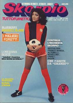 Copertina SKORPIO ANNO  4 n.17 - SKORPIO 1980            17, EDITORIALE AUREA