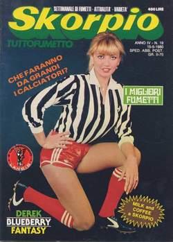 Copertina SKORPIO ANNO  4 n.19 - SKORPIO 1980            19, EDITORIALE AUREA