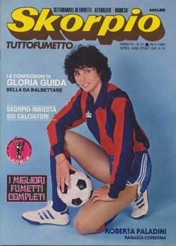 Copertina SKORPIO ANNO  4 n.21 - SKORPIO 1980            21, EDITORIALE AUREA