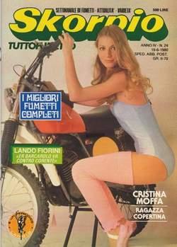 Copertina SKORPIO ANNO  4 n.24 - SKORPIO 1980            24, EDITORIALE AUREA