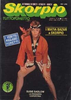Copertina SKORPIO ANNO  4 n.26 - SKORPIO 1980            26, EDITORIALE AUREA