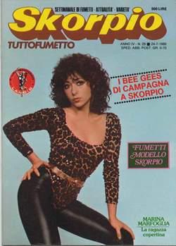 Copertina SKORPIO ANNO  4 n.29 - SKORPIO 1980            29, EDITORIALE AUREA