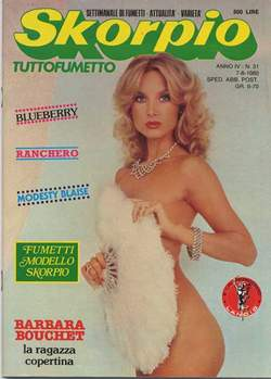 Copertina SKORPIO ANNO  4 n.31 - SKORPIO 1980            31, EDITORIALE AUREA