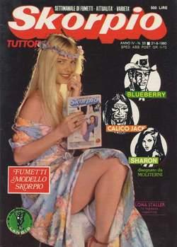 Copertina SKORPIO ANNO  4 n.33 - SKORPIO 1980            33, EDITORIALE AUREA