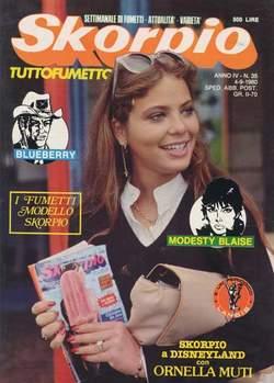 Copertina SKORPIO ANNO  4 n.35 - SKORPIO 1980            35, EDITORIALE AUREA