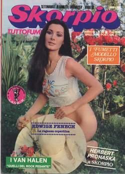 Copertina SKORPIO ANNO  4 n.36 - SKORPIO 1980            36, EDITORIALE AUREA
