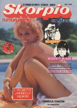 Copertina SKORPIO ANNO  4 n.37 - SKORPIO 1980            37, EDITORIALE AUREA
