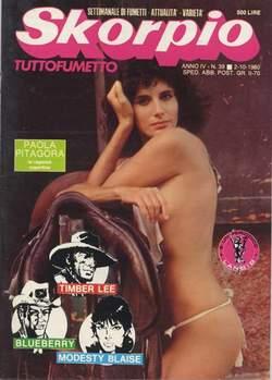 Copertina SKORPIO ANNO  4 n.39 - SKORPIO 1980            39, EDITORIALE AUREA