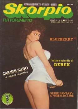 Copertina SKORPIO ANNO  4 n.41 - SKORPIO 1980            41, EDITORIALE AUREA