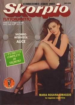Copertina SKORPIO ANNO  4 n.42 - SKORPIO 1980            42, EDITORIALE AUREA