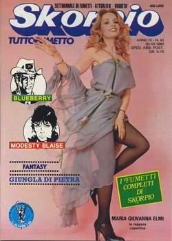 Copertina SKORPIO ANNO  4 n.43 - SKORPIO 1980            43, EDITORIALE AUREA