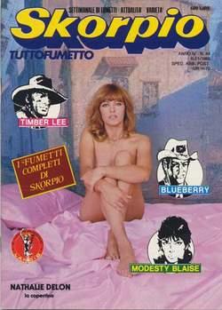 Copertina SKORPIO ANNO  4 n.44 - SKORPIO 1980            44, EDITORIALE AUREA