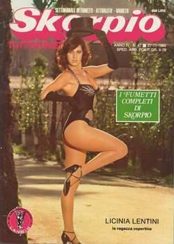 Copertina SKORPIO ANNO  4 n.47 - SKORPIO 1980            47, EDITORIALE AUREA