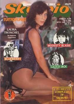 Copertina SKORPIO ANNO  4 n.50 - SKORPIO 1980            50, EDITORIALE AUREA