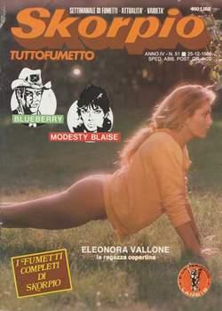 Copertina SKORPIO ANNO  4 n.51 - SKORPIO 1980            51, EDITORIALE AUREA