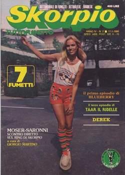Copertina SKORPIO ANNO  4 n.2 - SKORPIO 1980             2, EDITORIALE AUREA