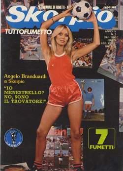 Copertina SKORPIO ANNO  4 n.3 - SKORPIO 1980             3, EDITORIALE AUREA