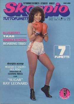 Copertina SKORPIO ANNO  4 n.4 - SKORPIO 1980             4, EDITORIALE AUREA