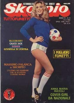Copertina SKORPIO ANNO  4 n.6 - SKORPIO 1980             6, EDITORIALE AUREA