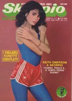 Copertina SKORPIO ANNO  4 n.7 - SKORPIO 1980             7, EDITORIALE AUREA