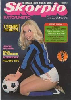 Copertina SKORPIO ANNO  4 n.8 - SKORPIO 1980             8, EDITORIALE AUREA