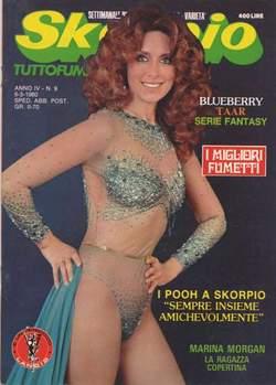 Copertina SKORPIO ANNO  4 n.9 - SKORPIO 1980             9, EDITORIALE AUREA