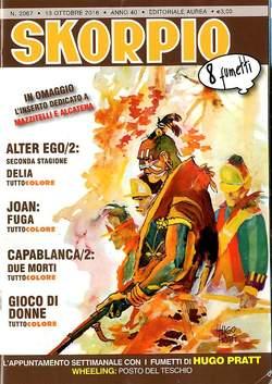 Copertina SKORPIO ANNO 40 in poi n.2067 - SKORPIO, EDITORIALE AUREA