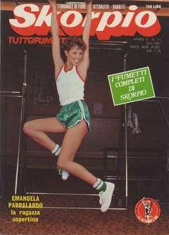 Copertina SKORPIO ANNO  5 n.11 - SKORPIO 1981            11, EDITORIALE AUREA