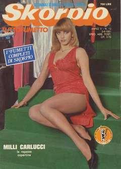 Copertina SKORPIO ANNO  5 n.13 - SKORPIO 1981            13, EDITORIALE AUREA