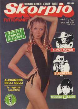 Copertina SKORPIO ANNO  5 n.14 - SKORPIO 1981            14, EDITORIALE AUREA