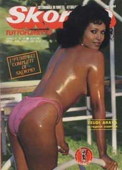 Copertina SKORPIO ANNO  5 n.15 - SKORPIO 1981            15, EDITORIALE AUREA