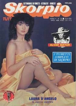 Copertina SKORPIO ANNO  5 n.16 - SKORPIO 1981            16, EDITORIALE AUREA