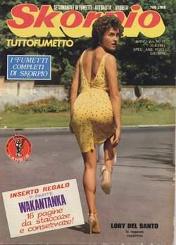 Copertina SKORPIO ANNO  5 n.17 - SKORPIO 1981            17, EDITORIALE AUREA