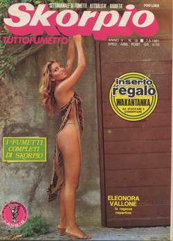 Copertina SKORPIO ANNO  5 n.18 - SKORPIO 1981            18, EDITORIALE AUREA