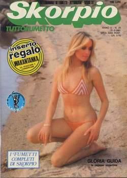 Copertina SKORPIO ANNO  5 n.20 - SKORPIO 1981            20, EDITORIALE AUREA